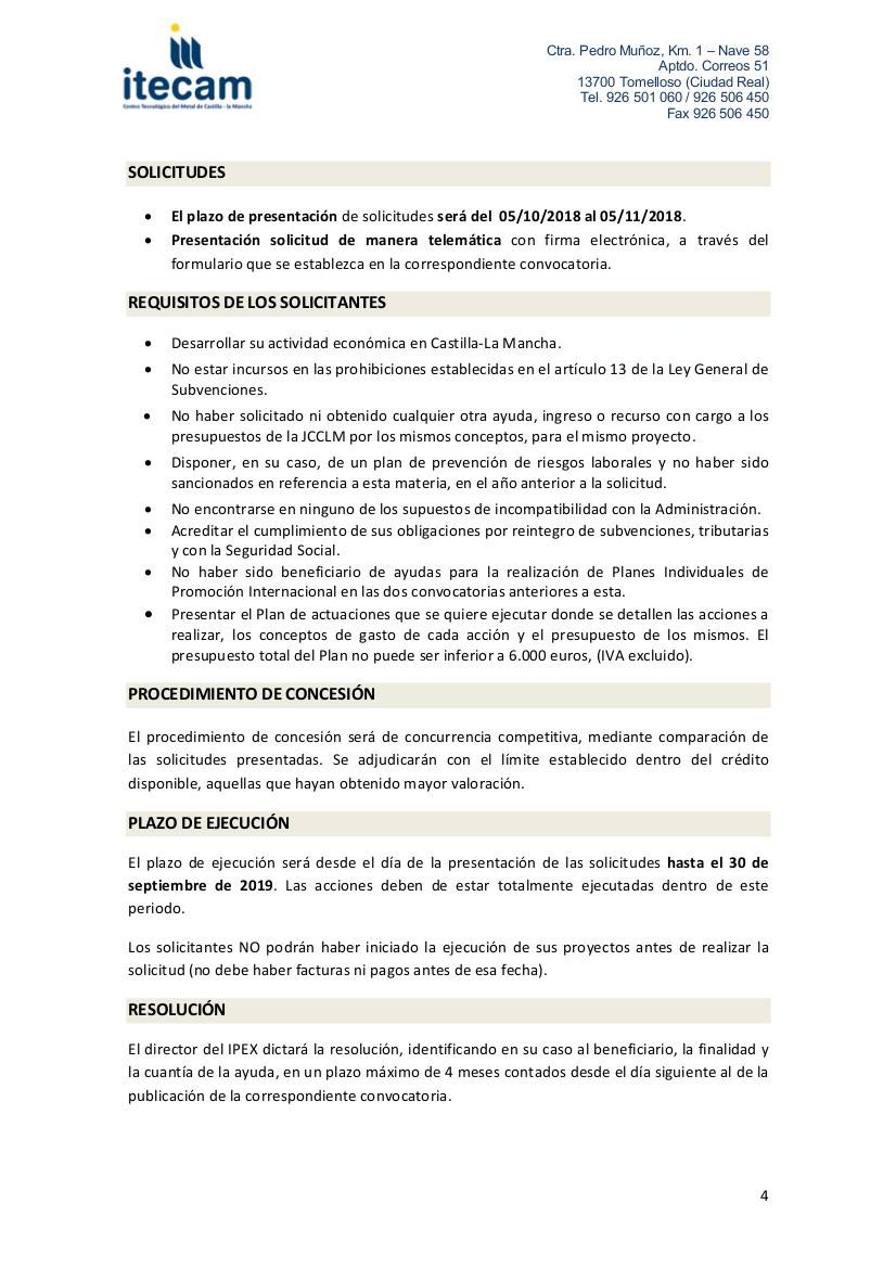ayudas para la internacionalización de empresas