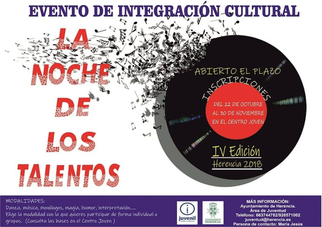 """Inscríbete ya en la IV edición de """"La Noche de los Talentos"""" 2"""