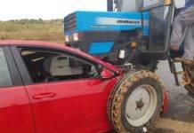 Accidente con heridos en la carretera que une Herencia y Villarta de San Juan