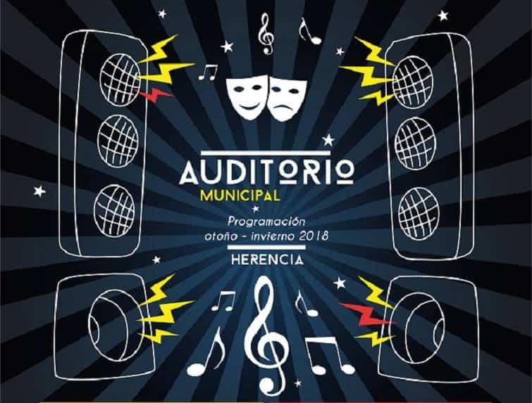 cartel AUDITORIO OTOÑO 2018 - Manu Tenorio sube el telón del Auditorio Municipal para la nueva temporada otoño-invierno