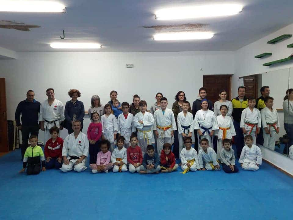 club karate do herencia - Gamito Sensei presente en las jornadas de Club Karate-Do de Herencia