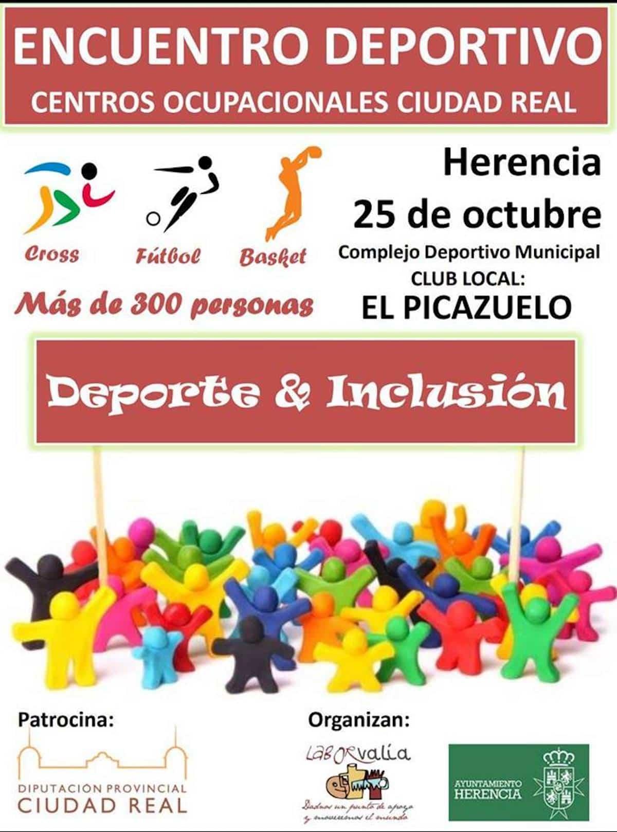 deporte inclusion picazuelo 2018 - Encuentro de Centros Ocupacionales de la provincia