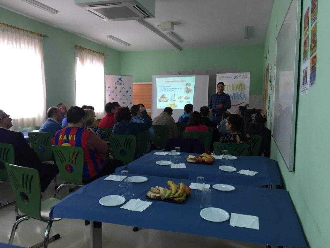 """Desayuno saludable en el Centro """"El Picazuelo"""" en Herencia 7"""