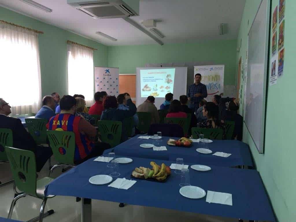 """Desayuno saludable en el Centro """"El Picazuelo"""" en Herencia 5"""