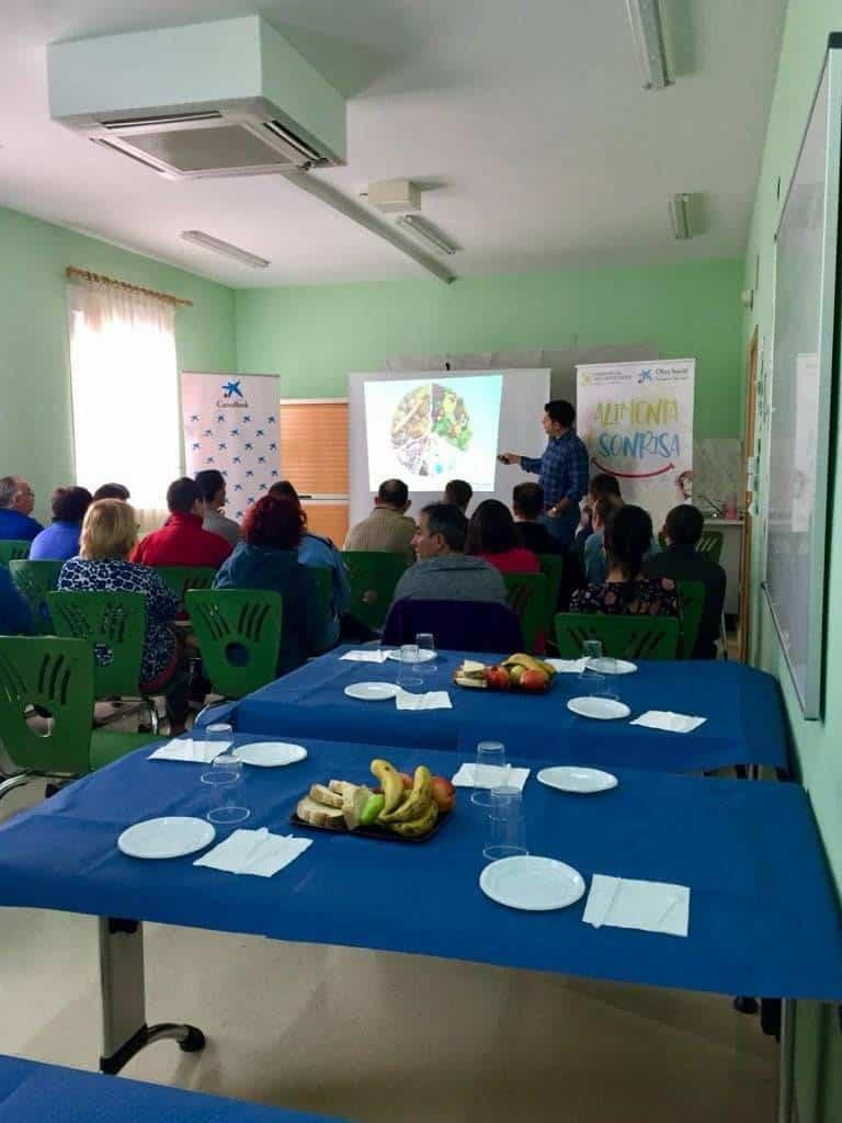 """Desayuno saludable en el Centro """"El Picazuelo"""" en Herencia 6"""