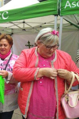 dia mundial contra el cancer de mama en Herencia 1 280x420 - Herencia se suma al rosa en el Día Mundial Contra el Cáncer de Mama