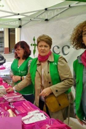 dia mundial contra el cancer de mama en Herencia 8 280x420 - Herencia se suma al rosa en el Día Mundial Contra el Cáncer de Mama