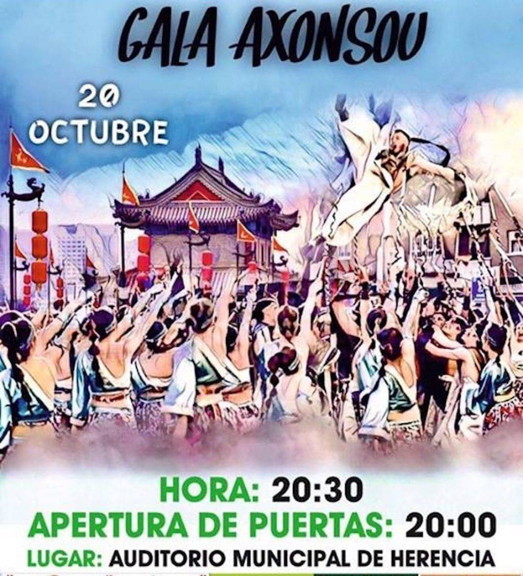gala axonsou 2018 1068x1175 - Axonsou celebrará su Gala 2018 en el Auditorio Municipal