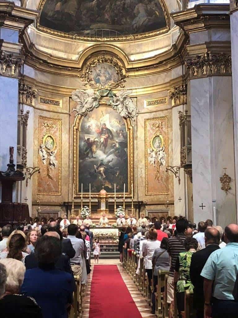 herenciano juan garcia morato basilica - El herenciano Juan García-Morato Rector de la Basílica de San Miguel de Madrid