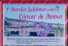 Primera Marcha Solidaria contra el Cáncer de mama en Herencia