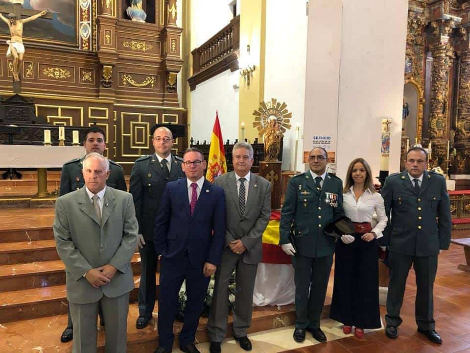 partido popular con guardia civil herencia 2018 1 - La Guardia Civil de Herencia celebró el día de su patrona la Virgen del Pilar