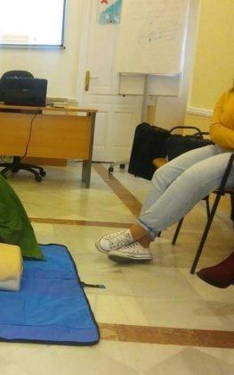 primeros auxilios infancia herencia 1 263x420 - Celebrada una charla de primeros auxilios en la infancia en Herencia