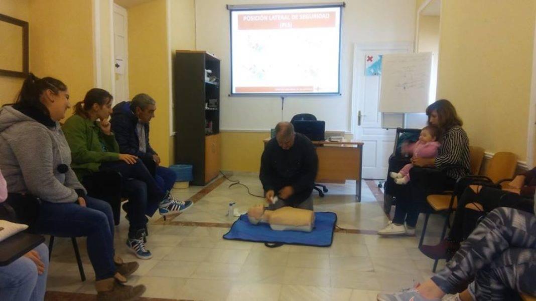 primeros auxilios infancia herencia 3 1068x601 - Celebrada una charla de primeros auxilios en la infancia en Herencia