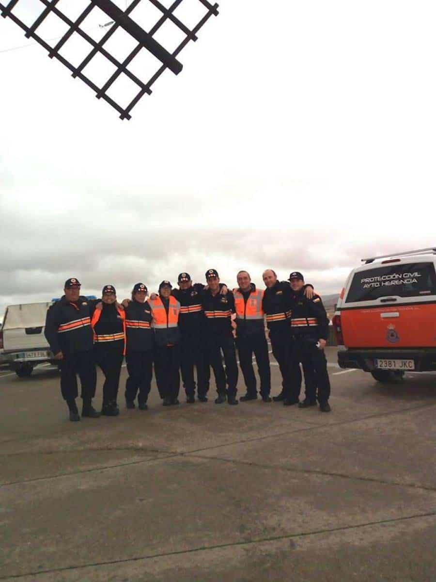 Protección Civil de Herencia colaboró en el Duatlón de Villarta de San Juan 6
