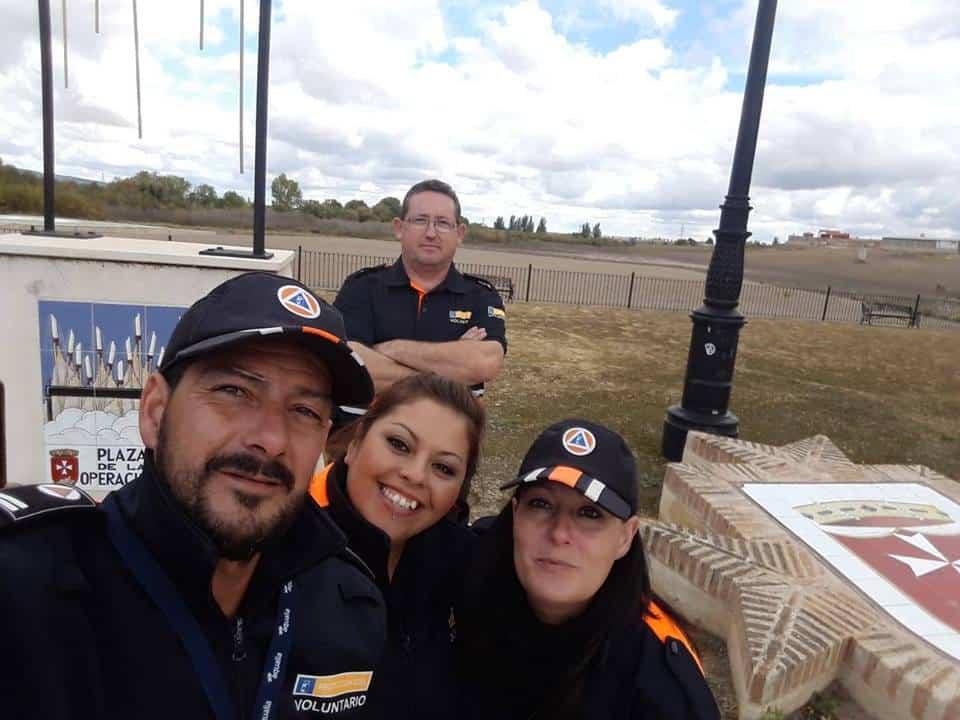 Protección Civil de Herencia colaboró en el Duatlón de Villarta de San Juan 5