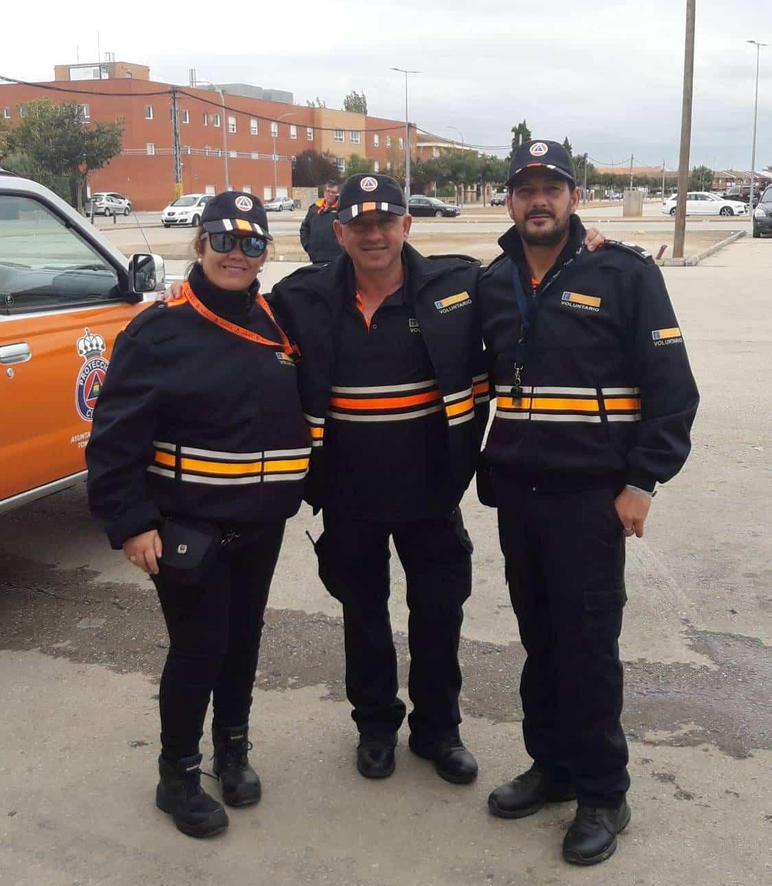 proteccion civil herencia puente octubre 2018 - Protección Civil de Herencia colabora en los preventivos del pasado puente