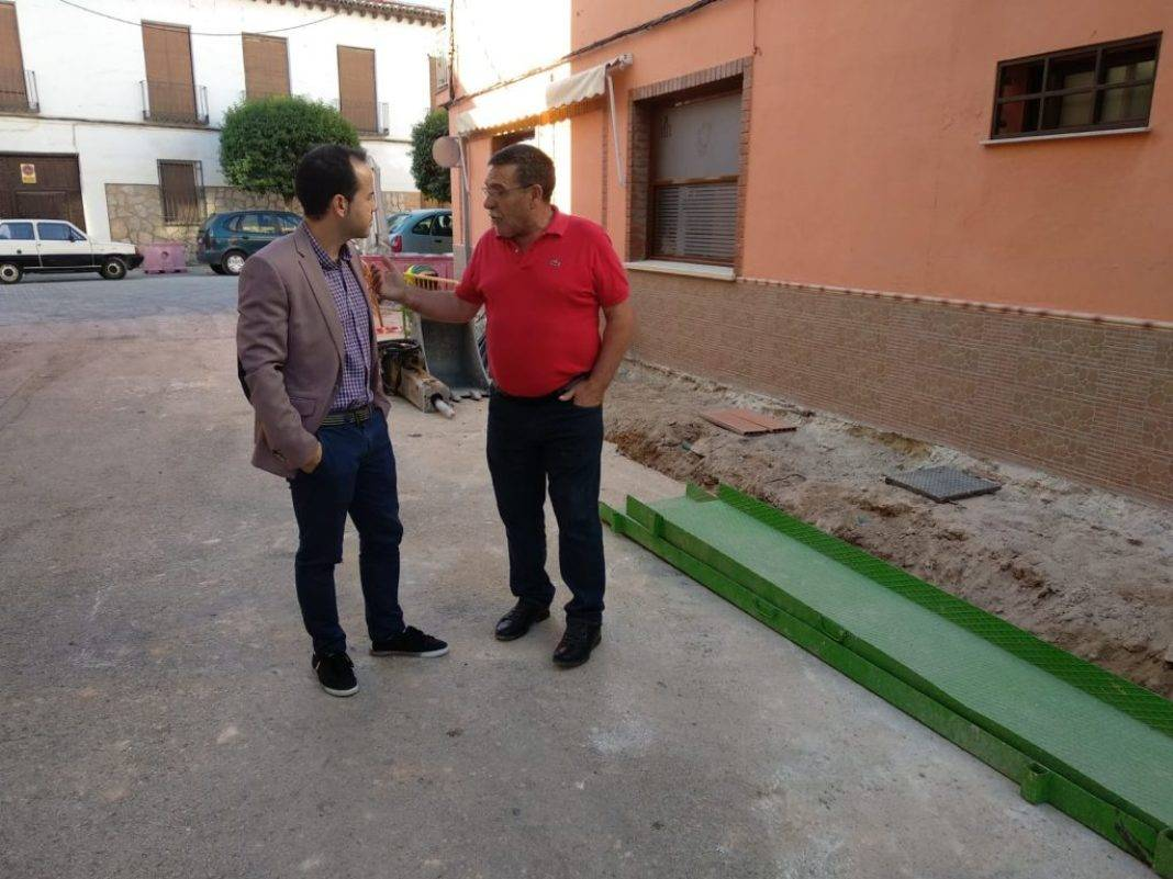 La calle Muñoz Seca incluida en las obras de semipeatonalización del centro de Herencia 7
