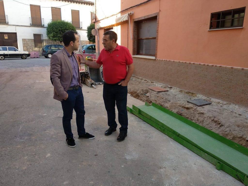 semipeatonalizacion centro herencia calle munoz seca 1 - La calle Muñoz Seca incluida en las obras de semipeatonalización del centro de Herencia