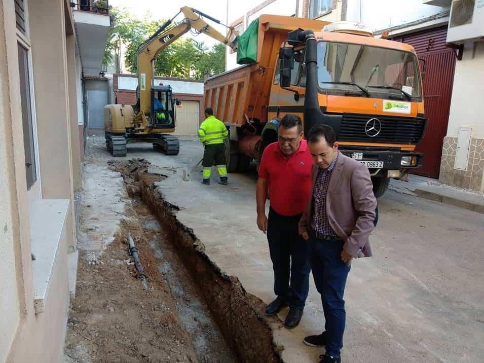 semipeatonalizacion centro herencia calle munoz seca 2 - La calle Muñoz Seca incluida en las obras de semipeatonalización del centro de Herencia