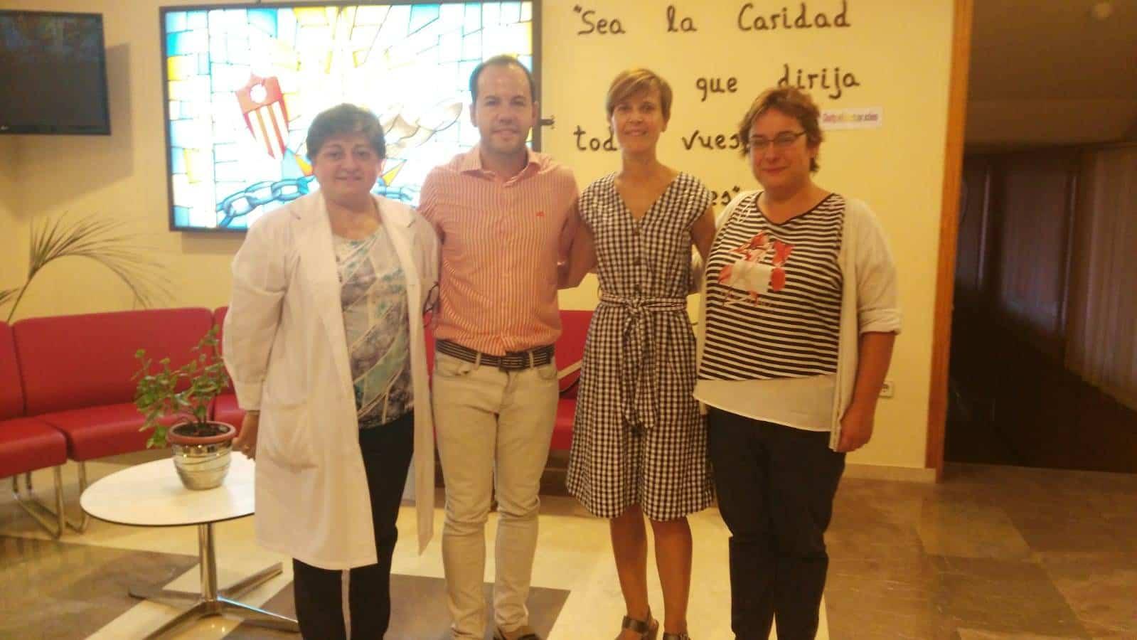 visita colegio mercedarias alcalde herencia 2 - Colegio Nuestra Señora de las Mercedes recibió la visita del Alcalde