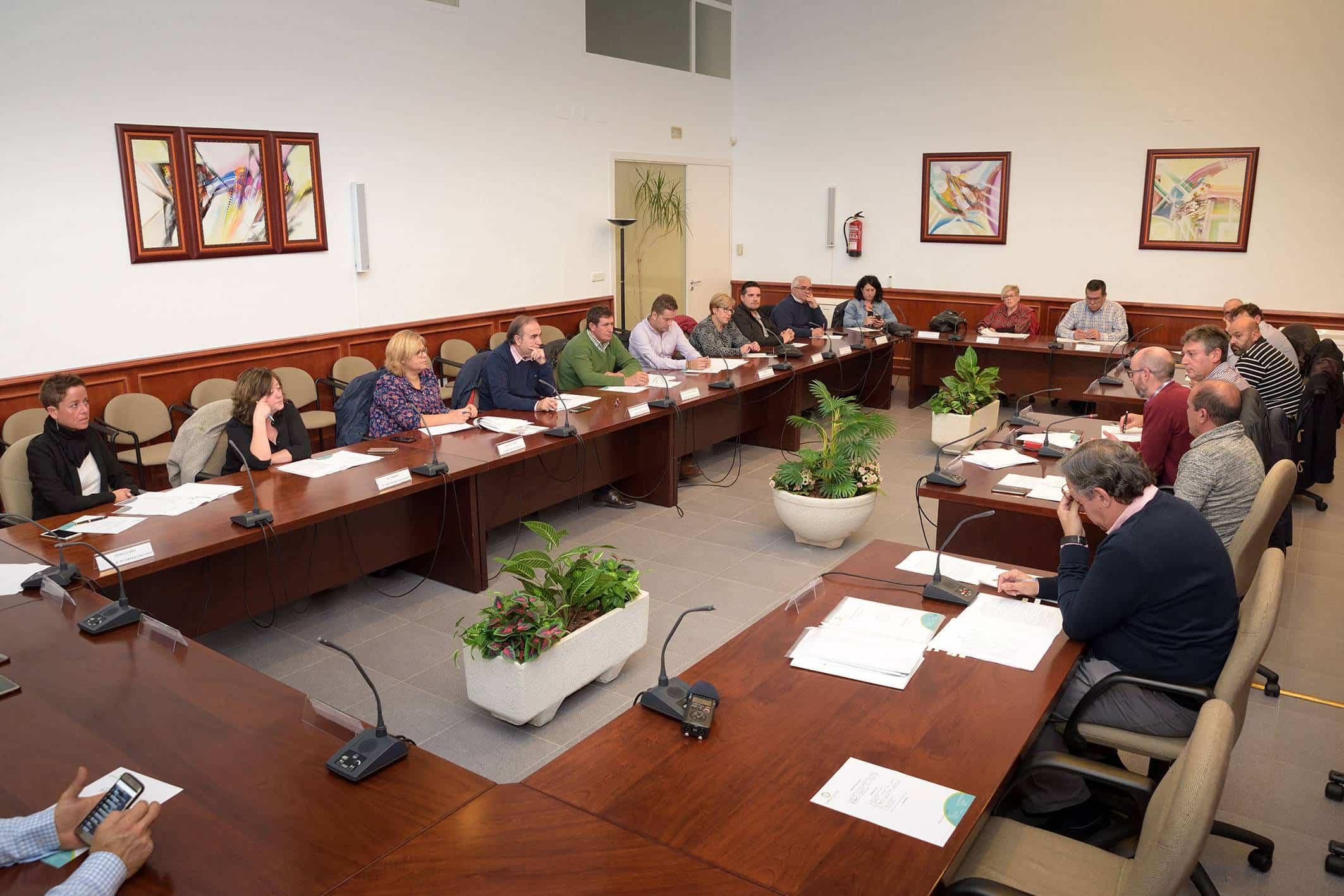 20181107 Pleno Comsermancha - Comsermancha aprueba de forma inicial un presupuesto superior a 10 millones de euros para 2019
