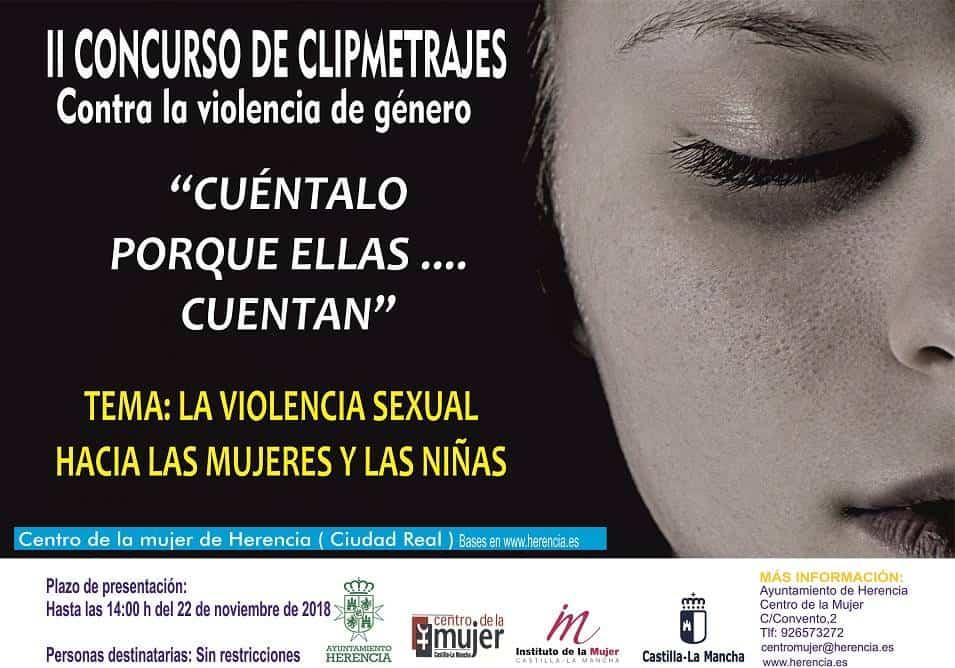 Cartel Clipmetrajes 2018 2 - II Concurso de Cliptmetrajes Contra la Violencia de Género