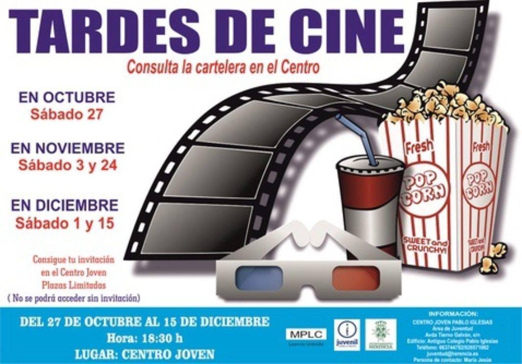 Cine de invierno 1 1068x746 - Sábados de cine en el Centro Joven de Herencia