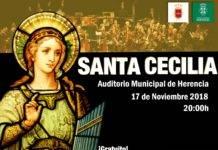 Concierto y actos en honor a Santa Cecilia