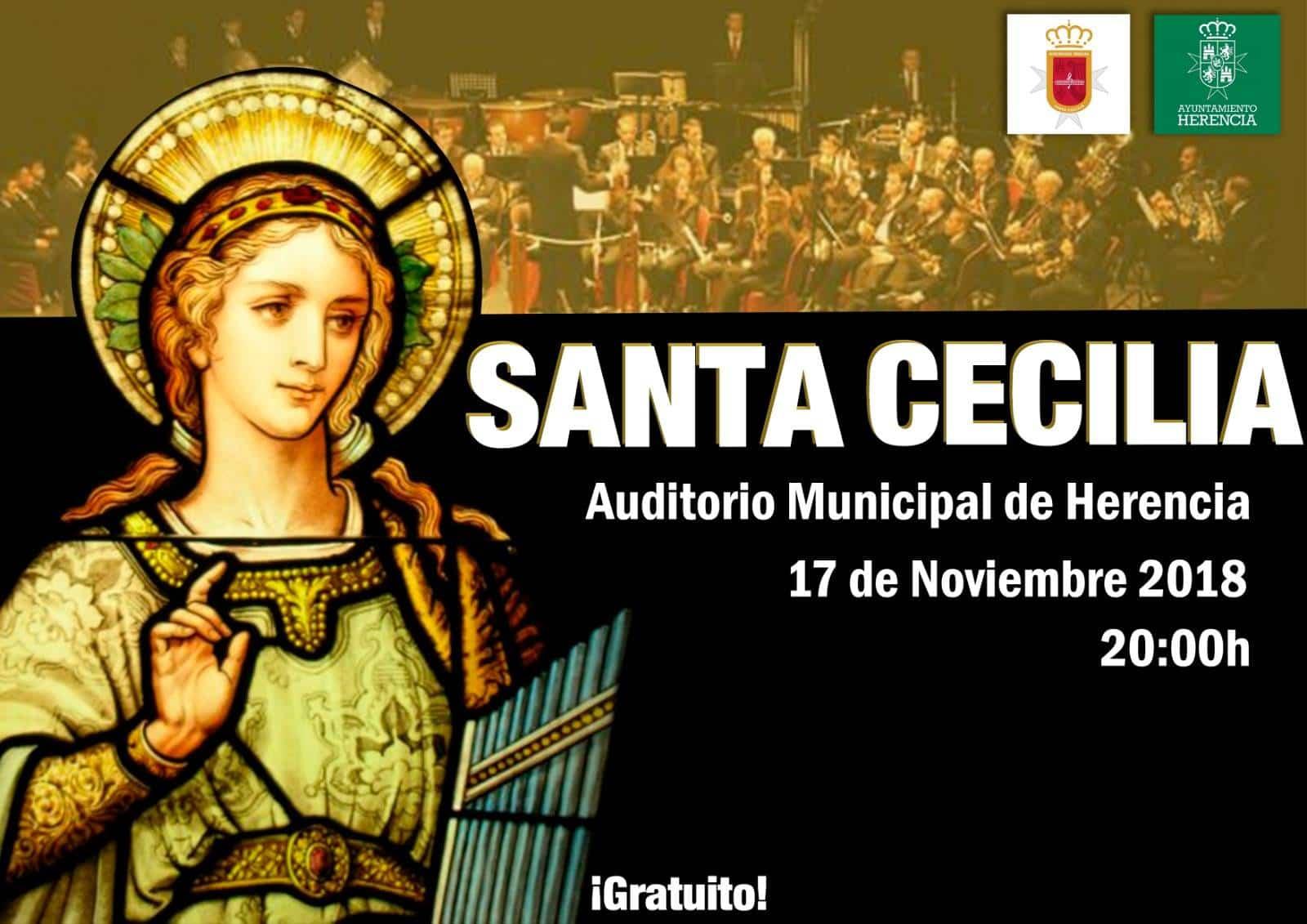 Concierto de Santa Cecilia en Herencia - Concierto y actos en honor a Santa Cecilia