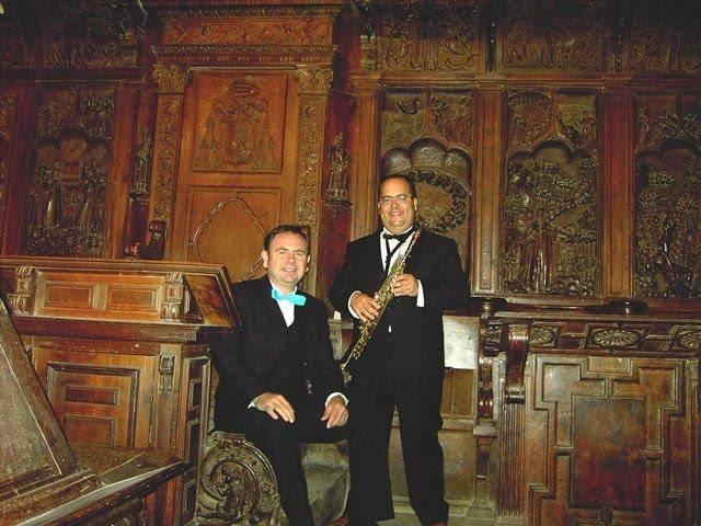 Dúo Remembranzas - Concierto aniversario de la reconstrucción y restauración del órgano barroco de Herencia