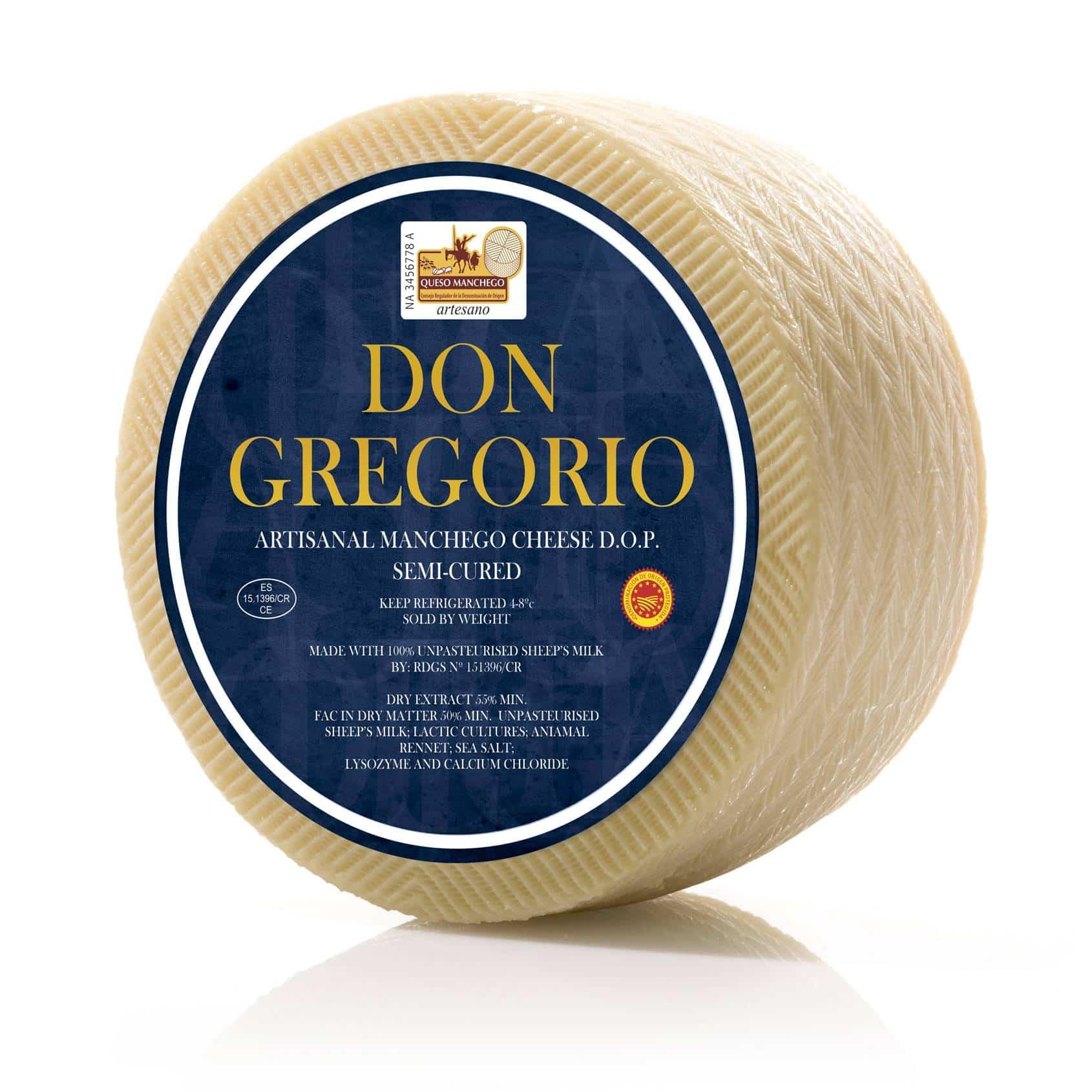 DON GREGORIO SEMI gomez moreno carpuela - Quesos Gómez Moreno premiado de nuevo en el World Cheese Awards 2018