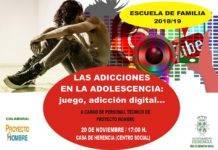 """Charla sobre las adicciones en la adolescencia dentro del programa """"Escuela de Familia"""""""
