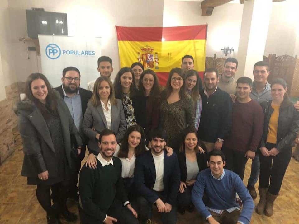 Fátima Tajuelo elegida presidenta de Nuevas Generaciones de Herencia 6