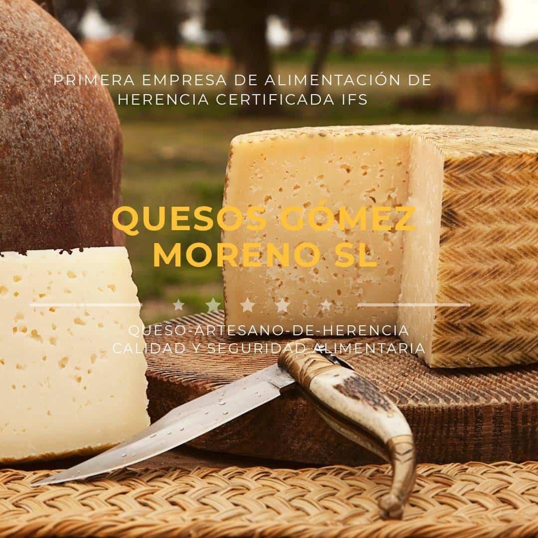 IFS CERTIFICADO quesos gomez moreno - Quesos Gómez Moreno logra la certificación IFS en Calidad y Seguridad Alimentaria