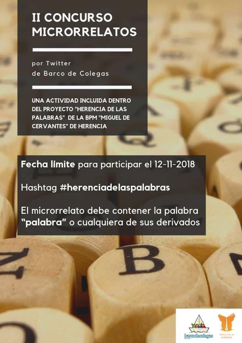 II Concurso Microrelatos - II Concurso de microrrelatos por Twitter de Barco de Colegas