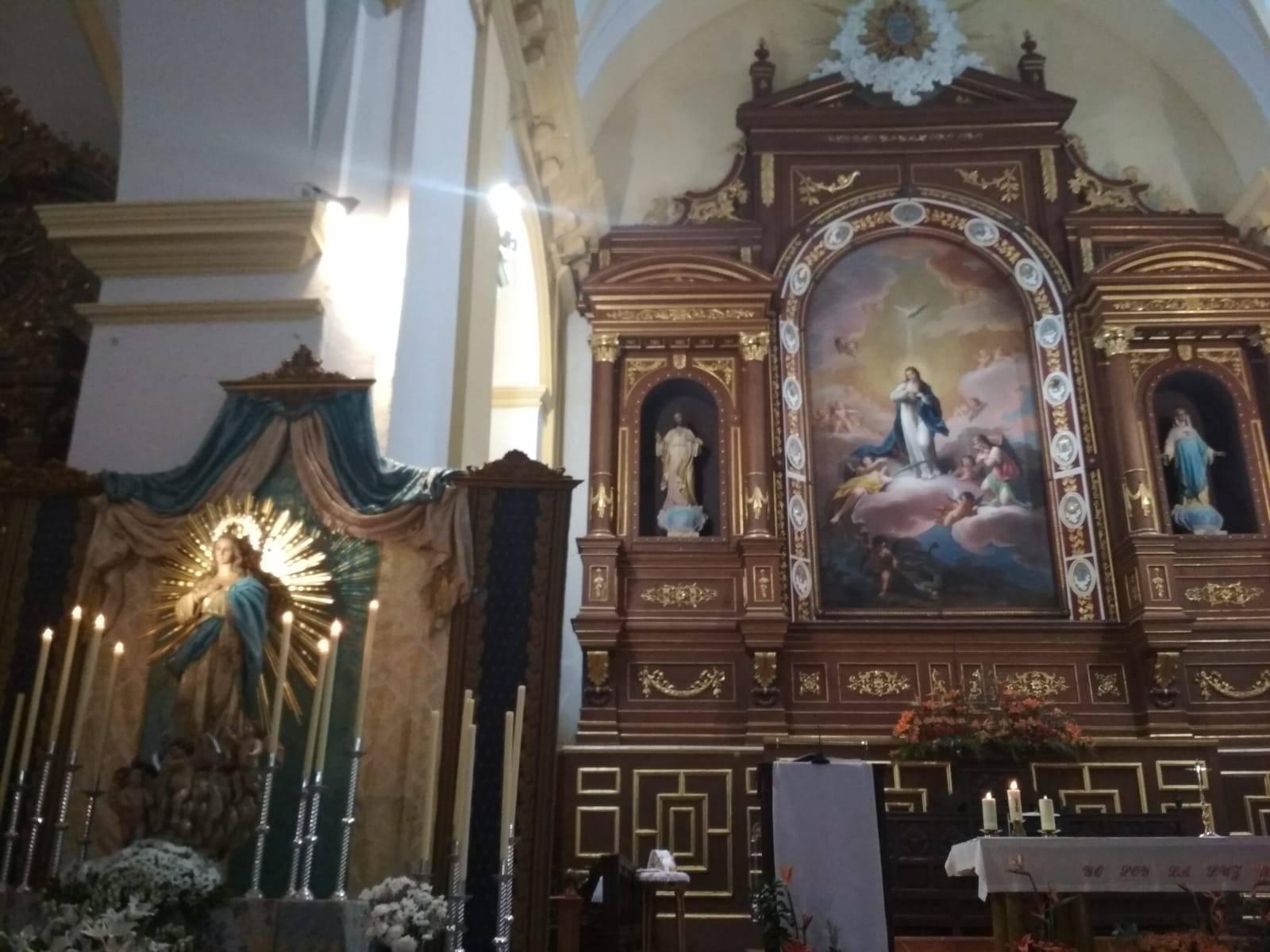 Inmaculada Concepción de Herencia - Actos de las fiestas patronales 2018 en honor a la Inmaculada Concepción