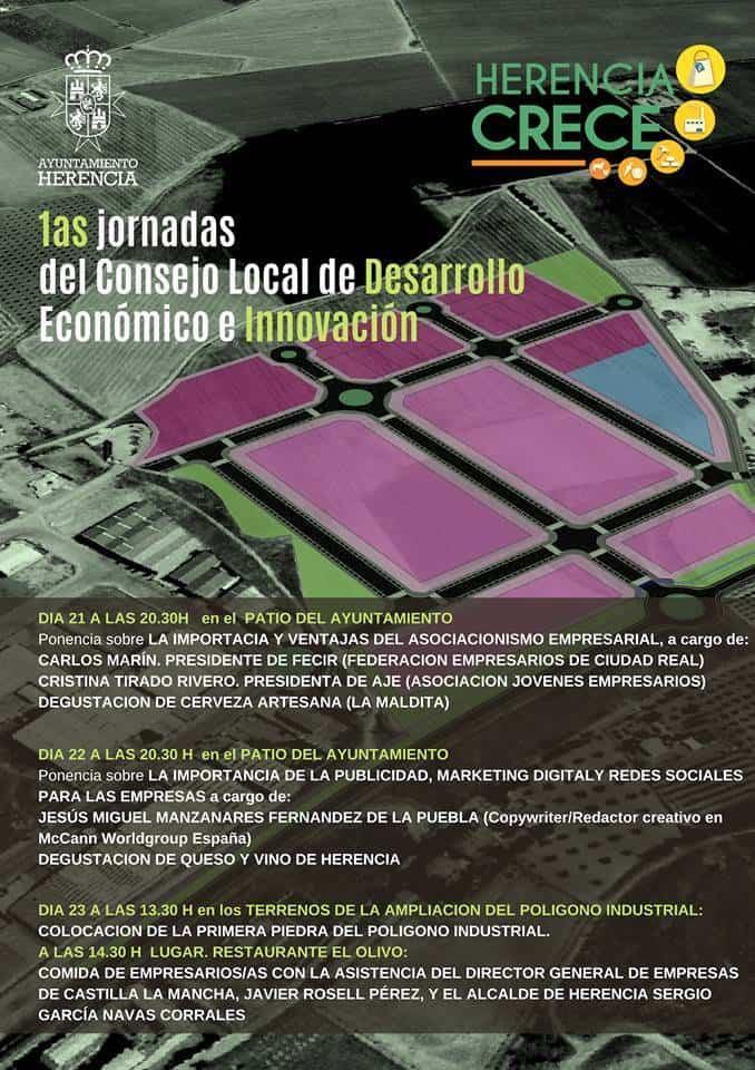 Jornadas del Consejo Local de Desarrollo e Innovacion de Herencia - Herencia celebra las primeras Jornadas de su Consejo Local de Desarrollo e Innovación