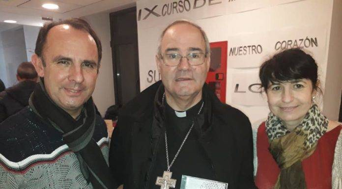 Cis Adar en el seminario de Cáceres