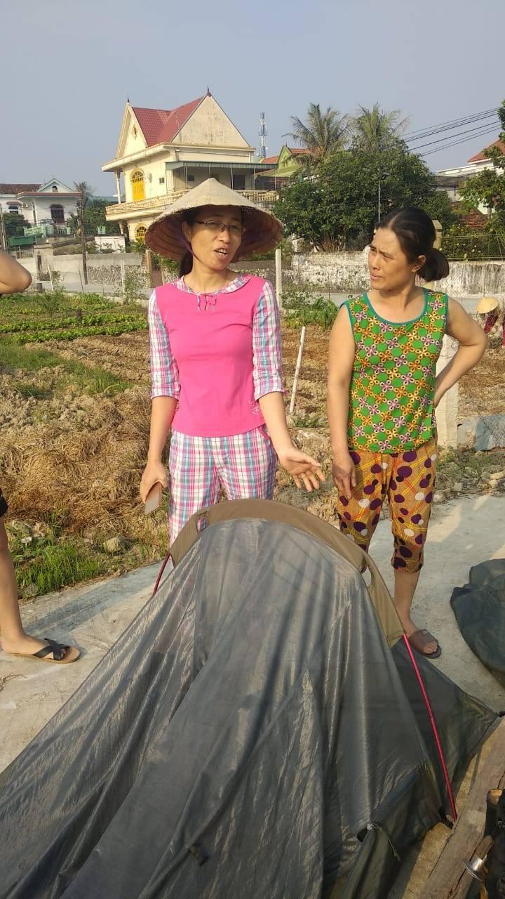 Perlé llegado a Hanoi, capital vietnamita. Etapas 436 a 445 69
