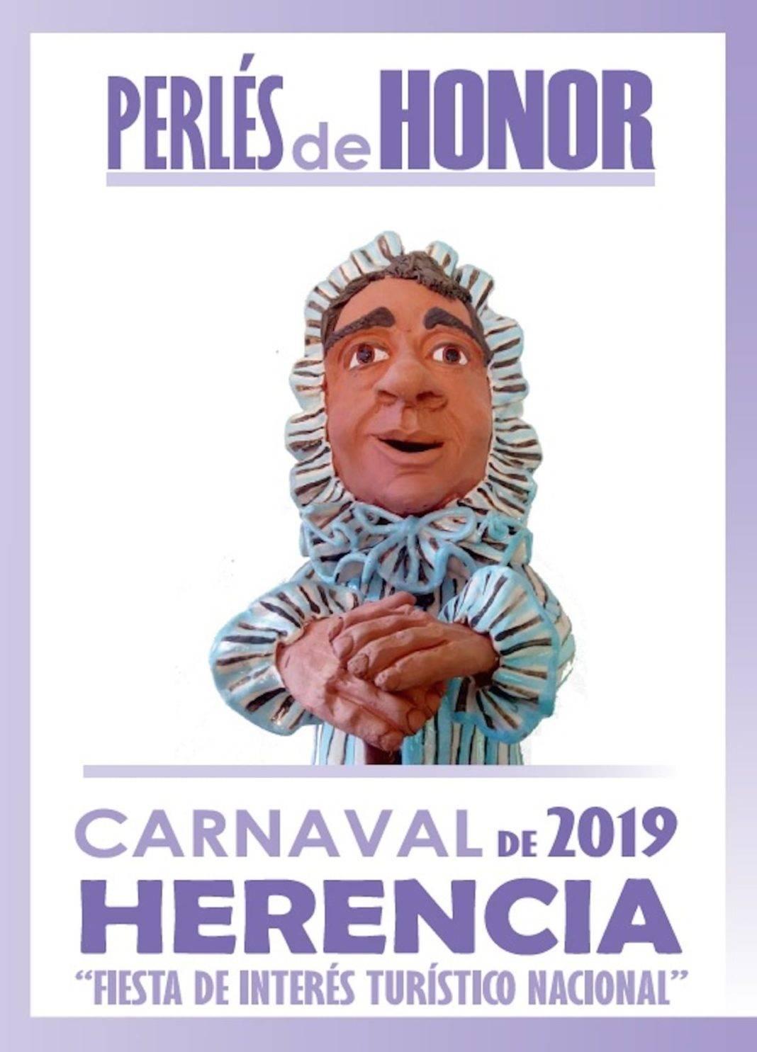 Abierto el plazo de presentación de candidaturas para los Perlés de Honor del Carnaval de Herencia 2019 7