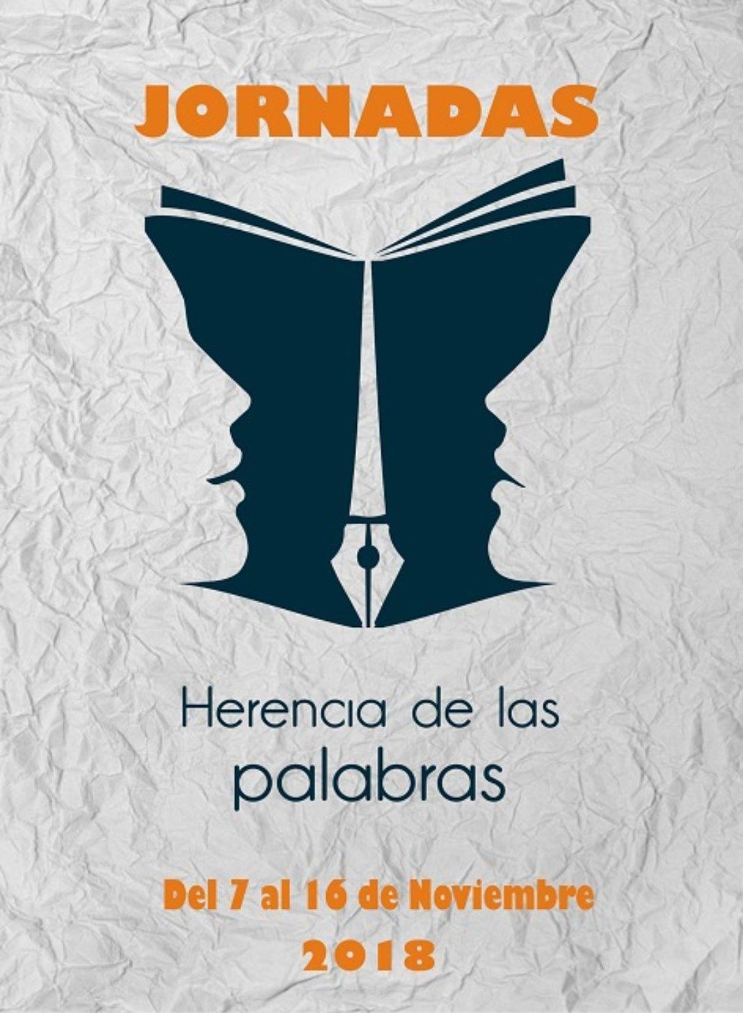 """Portada herencia de las palabras biblioteca 1 1068x1457 - La biblioteca organiza sus primeras Jornadas """"Herencia de las Palabras"""""""