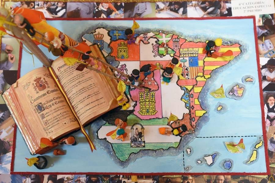 XL concurso para escolares sobre la Constitución Española2 - Miguel Rodríguez-Palmero, gana un premio provincial del XL concurso para escolares sobre la Constitución Española
