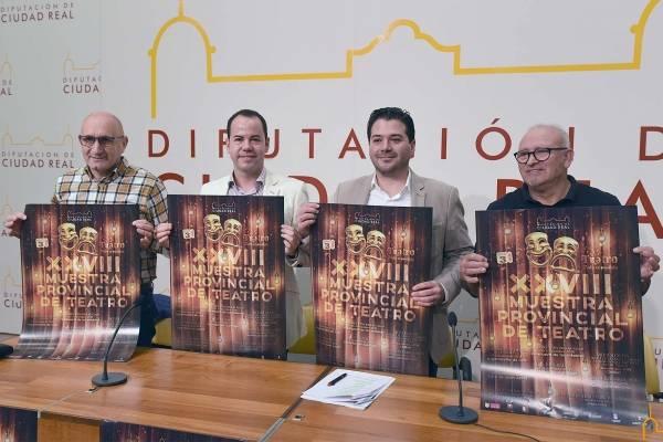 XXVIII Muestra Provincial de Teatro de la Diputación - Herencia acogerá la final de la XXVIII Muestra Provincial de Teatro de la Diputación