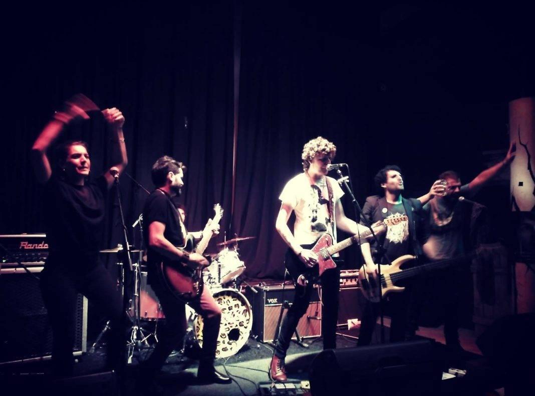 """Yeska presenta su disco """"Incendio"""" en la sala Rolling Rock de Alcázar 7"""