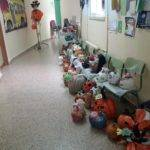 EL CEIP Carrasco Alcalde realiza una exposición de calabazas decoradas 4