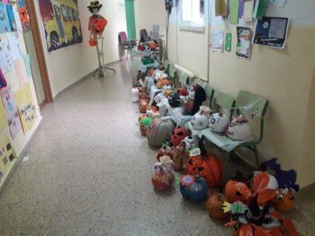 concurso de calabazas ceip carrasco alcalde de Herencia