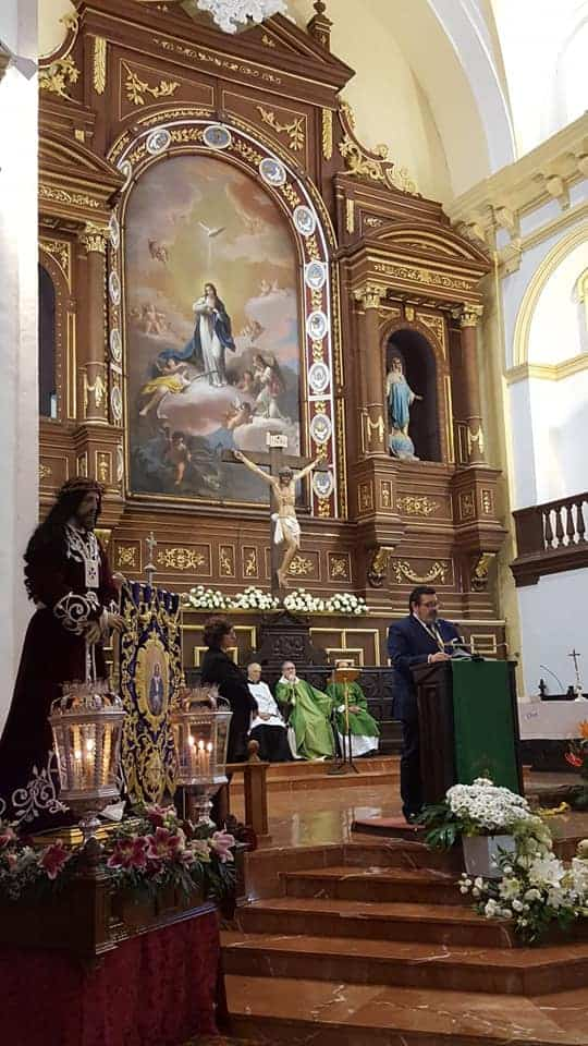 La Hermandad de Medinaceli de Herencia viaja a Madrid para celebrar la festividad de Cristo Rey 4