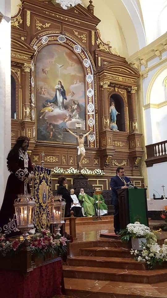 encuentro hermandes medinaceli - La Hermandad de Medinaceli de Herencia viaja a Madrid para celebrar la festividad de Cristo Rey
