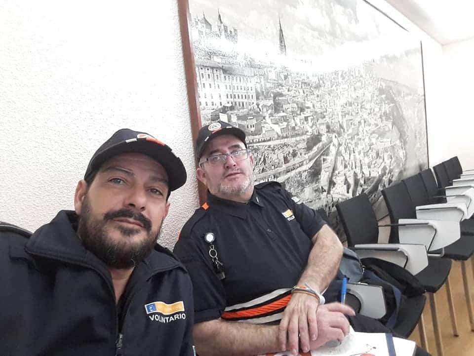 Protección Civil se forma en la Escuela de Protección Ciudadana en Toledo 5
