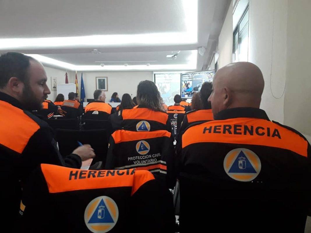 Protección Civil se forma en la Escuela de Protección Ciudadana en Toledo 6